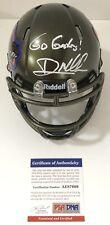 Dan Mullen Signed Autographed Florida Gators Swamp Mini Helmet Psa/Dna