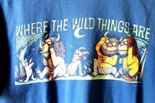 Vintage 'Where The Wild Things Are' Maurice Sendak MED shirt