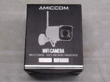 Amiccom WiFi Security Camera Outdoor - Wireless Control - White A6