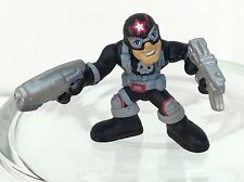 Marvel Super Hero Squad PUNISHER Captain Punishment / America Costume - Wave 6
