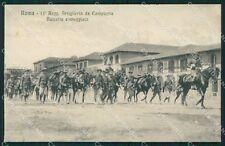 Roma Città Caserma Militari Artiglieria cartolina QT2227