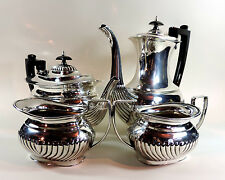VINTAGE SILVER PLATED 'COOPER BROS & SONS' FOUR PIECE SET