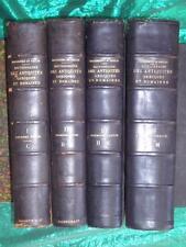 DAREMBERG : DICTIONNAIRE DES ANTIQUITÉS GRECQUES ET ROMAINES - PARIS 1877