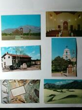 VINTAGE SAN BERNARDINO COUNTY 6 POST CARD OF DIFFERENT PLACES