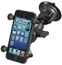 RAM Windshield Short Arm Mount w/ X-Grip Cradle f/ iPhone, iPod Touch, Galaxy