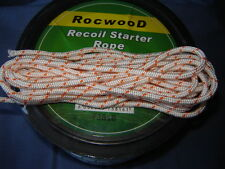 5 MTRS X 6mm RECOIL PULL CORD ROPE IDEAL FOR LARGE HEAVY DUTY PETROL MACHINES