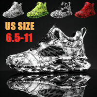 Men's Personality Sneakers Casual Breathable Running Shoes Sports Athletic Gym