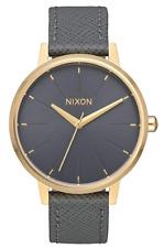 Nixon The Kensington Leather Watch A108-2815 NIB