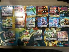 Cardfight Vanguard V-BT05 Oracle Think Tank, Almost C/R Playset, see picture