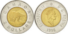 2 Dollars - Canadian Coin 1996 or 2005 or 2007 or 2009 or 2011 or 2012 - Toonie