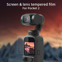 Accessories Screen Protector 9H Lens Film Tempered Glass For DJI Osmo Pocket 2
