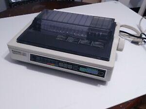 Panasonic KX-P2123 Quiet Printing 24 Pin Color Dot Matrix Printer Tested PERFECT