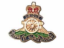 Royal Artillery Lapel Regimental Military Badge
