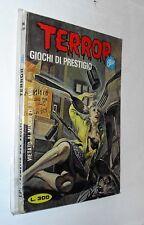 - erotico d'epoca TERROR BLU n 34 giochi di prestigio --. spedisco imbustato