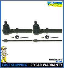 2 Outer & 2 Inner Front Tie Rod End Steering Set For Subaru Baja Legacy Outback