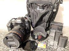 Canon EOS 5D Mark III Camera Body + 24-105mm f/4L IS Lens - 51k SHUTTER + BONUS