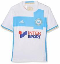 Adidas Maillot Football Olympique de Marseille Domicile Neuf Taille Enfant Blanc
