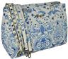 Borsa A Spalla Donna Bianco/Azzurro Ermanno Scervino Bag Woman White/Blue Linea