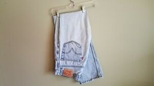 Vintage Levis 505 Made In USA Blue Jeans Denim Straight Leg 33 x 34 Light Wash