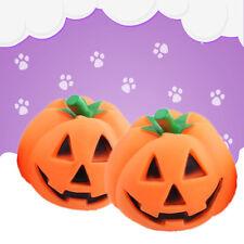 Orange Halloween Pumpkin Pet Dog Chew Fun Play Toy Squeak Pet Supply Pro US New