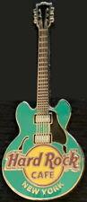 Hard Rock Cafe NEW YORK 2006 Green CORE GUITAR Series PIN 6 String - HRC #31248