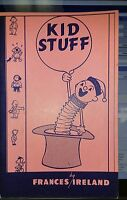 Francis Ireland KID STUFF BOOKLET Magic Tricks for Kids Party Gags Jokes Childre