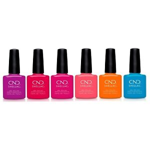 CND - Shellac Summer City Chic 2021 Collection 6 bottles!