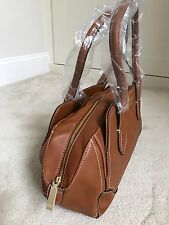 Fiorelli Ladies Womens Faux Leather Brown Weekend Shoulder Handbag - BNWT