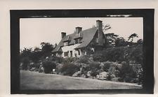 VINTAGE Velox Photograph - Cottage