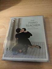 The Piano Teacher (Criterion Blu-Ray, 2017) - Haneke, Isabelle Hupert - Like new