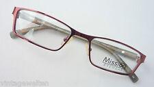 Mission eyewear gemäßigte Butterflyform Brille mit Kunststoff-Federbügel size M