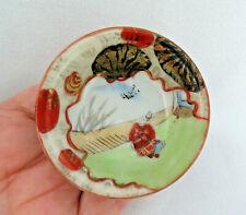Signed Japanese Kutani Porcelain Sake Cup