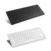 1X(1 Clavier Ultra-Mince Sans Fil Bluetooth 3.0 Pour Ipad / Iphone / Mac Bo 5B2)