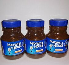 New listing Maxwell House Instant Coffee Original Roast Lot of 3 Discontinued 8 Oz 10/2019