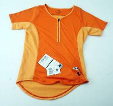 Pearl Izumi Women's Canyon Short Sleeve Cycling Jersey Medium Orange