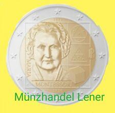 2Euro Italien 2020  aus Rolle 2 euro Maria Montessori vvk