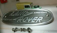 Cast Aluminium Grill/Grille Tub Badge Replica Birmingham Land Rover Series 1 2