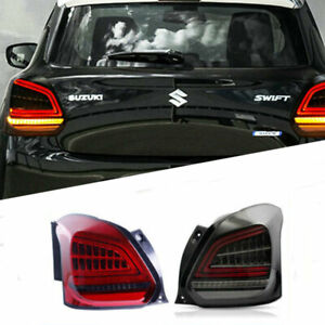 For Suzuki-swift 2017-2019 LED taillight Brake Trunk Light Dynamic Turn Signal