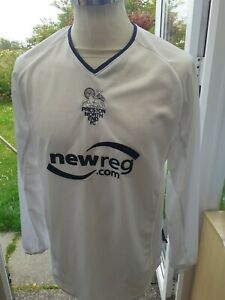 Preston North End 2002 Long Sleeved Home Shirt  Size S Adult