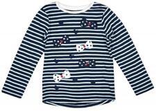 T-shirts et débardeurs bleus avec un motif À Pois pour fille de 2 à 16 ans
