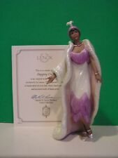 LENOX STEPPING OUT 20's fashion figurine NEW in BOX with COA African American