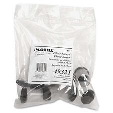 Lorell 49321 Clear Sleeve Floor Protector 125ampquot Diameter 8 Per Pack