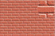 Slaters Embossed Plastikard No.0404 1:43 Brick Red