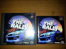 COLIN MC RAE THE RALLY  SONY PLAYSTATION GAME VIDEOGAMES PS JAP JAPANESE PSX PS1