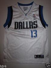 Steve Nash #13 Dallas Mavericks NBA Reebok Jersey Youth M 10-12