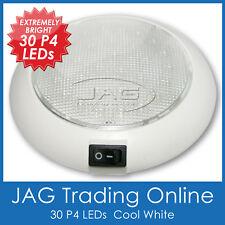 12V 30-P4 LED WHITE CABIN DOME LIGHT-Marine/Boat/Caravan/RV/Interior/Bunk Lamp