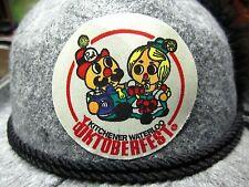 OKTOBERFEST Bavarian hat lrg w/ feather Kitchener Waterloo alpine Prosit Canada
