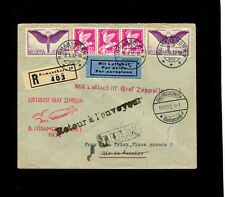 Zeppelin Sieger 189 8th South America Flight Switzerland Treaty SLH ZF 176A