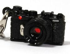 Japan Hobby Tool Miniature Camera Strap Range Finder type - Swarovski Black