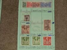 Great Britain, used from circuit book, Catalog Value Approximately $190.00